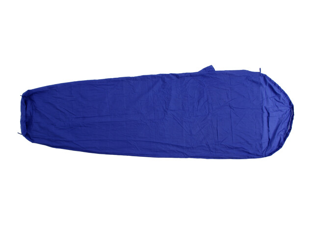 Basic Nature Tejido mixto - Fundas para sacos - tipo momia azul